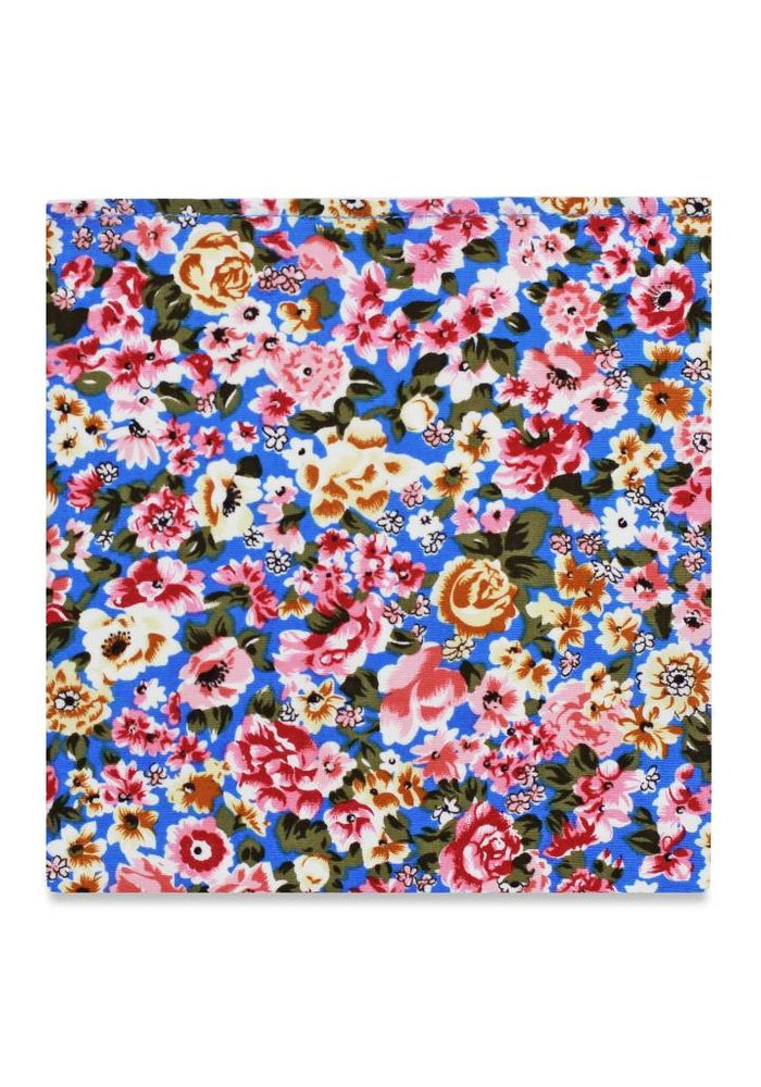The Socialite Floral Pocket Square