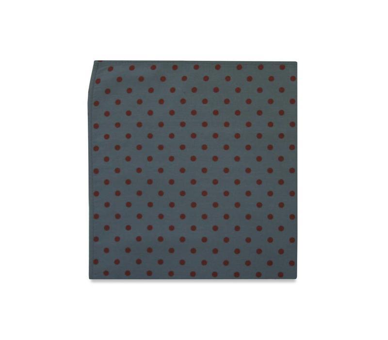 The Wright Polka Dot Pocket Square