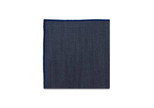 Pocket Square Clothing The York (Blue) Pocket Square