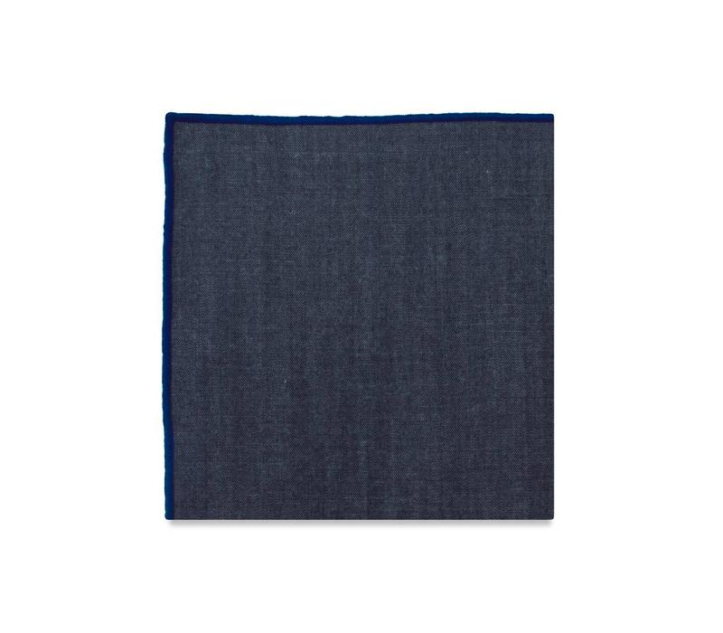 The York (Blue) Pocket Square