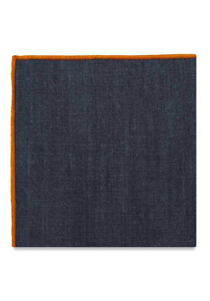 The York (Orange) Pocket Square