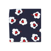 The Diana Floral Pocket Square