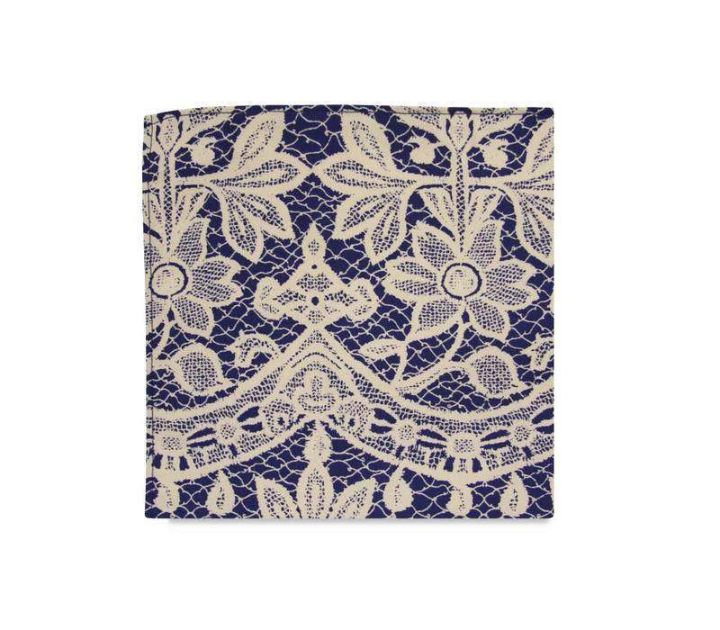 The Essa Floral Pocket Square
