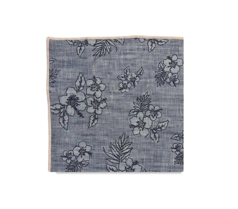 The Freda Floral Pocket Square