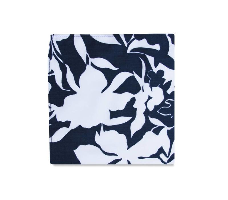 The Keoni Floral Pocket Square