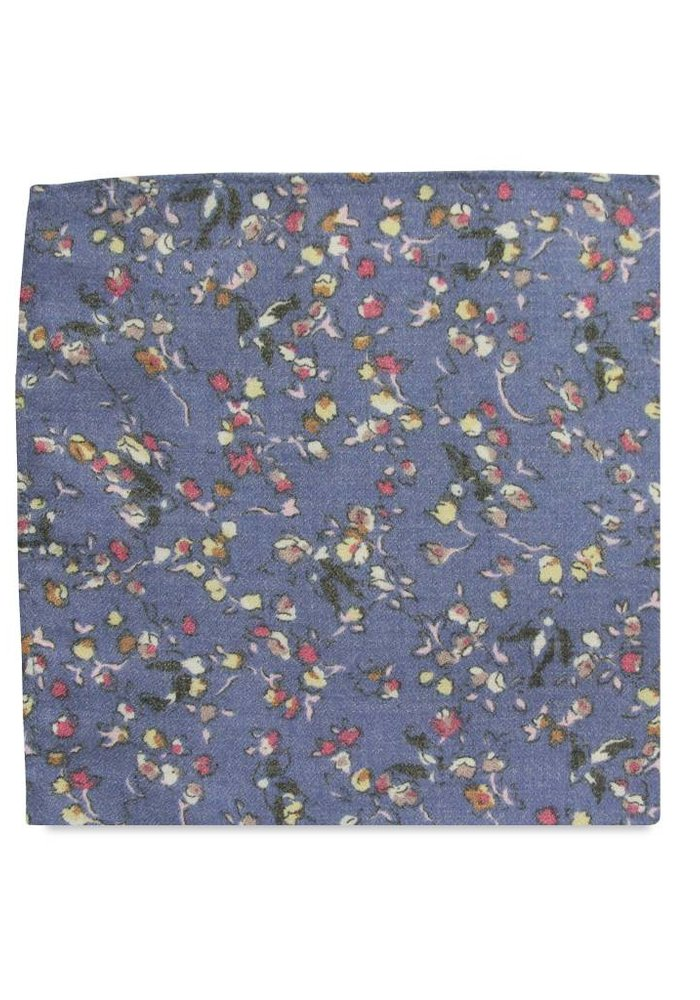 The Louisa Floral Pocket Square