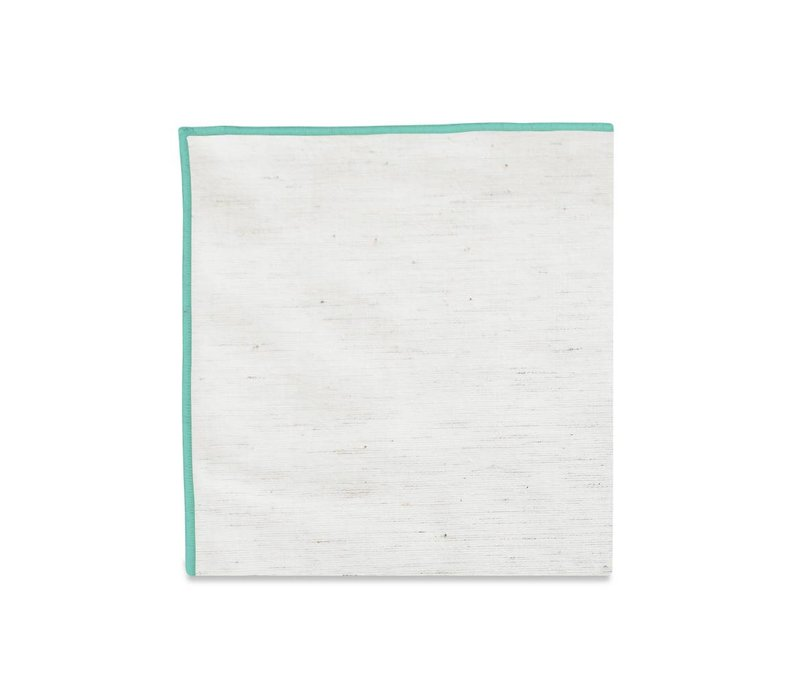 The Merrow (Mint) Pocket Square