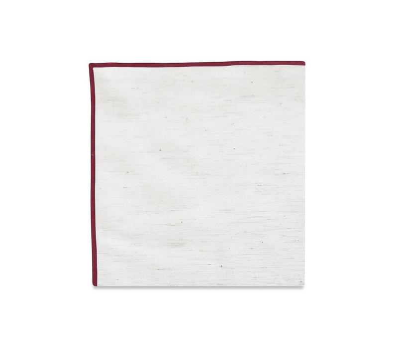 The Merrow (Maroon) Pocket Square