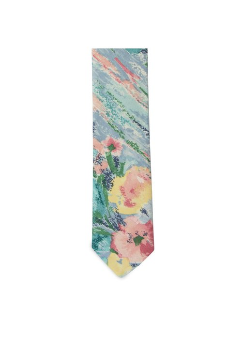 Pocket Square Clothing The Acosta Floral Tie
