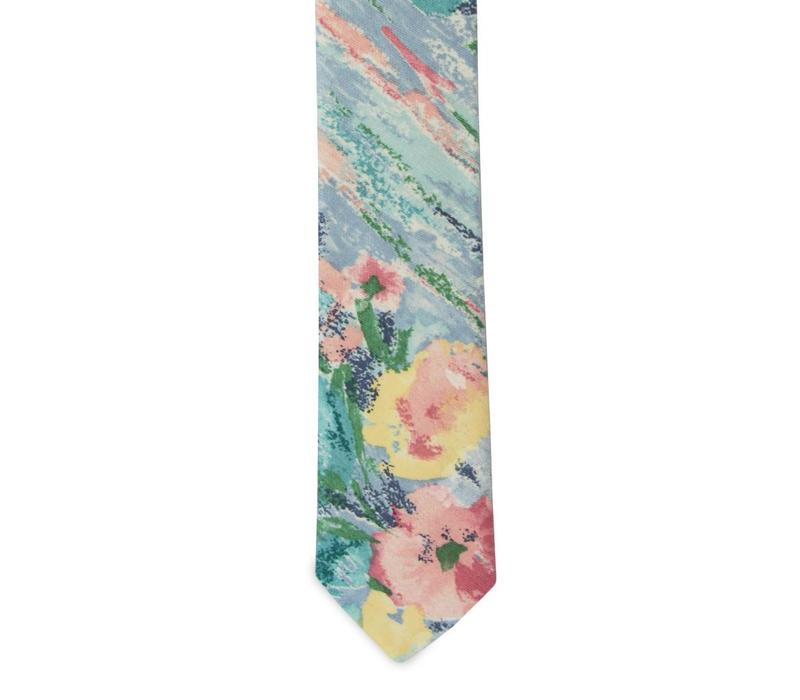 The Acosta Cotton Floral Tie