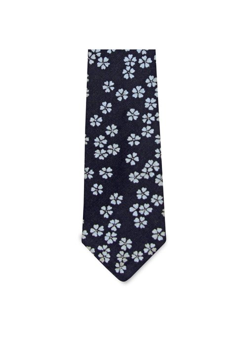 Pocket Square Clothing The Aubrey Floral Tie