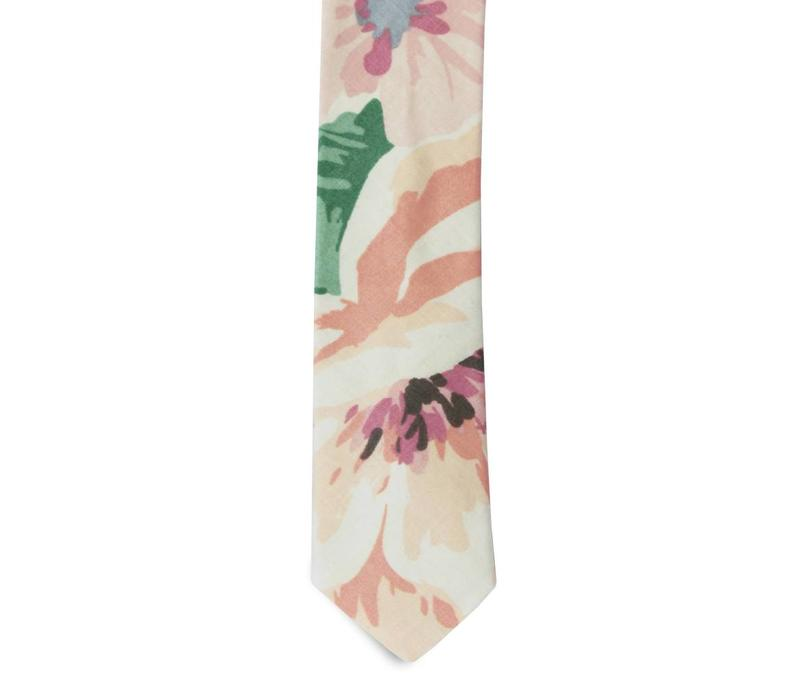 The Bautista Cotton Floral Tie