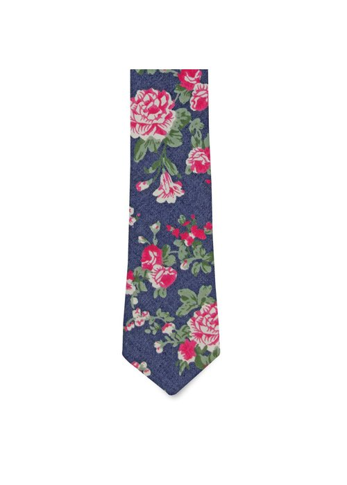 Pocket Square Clothing The Clara Floral Tie