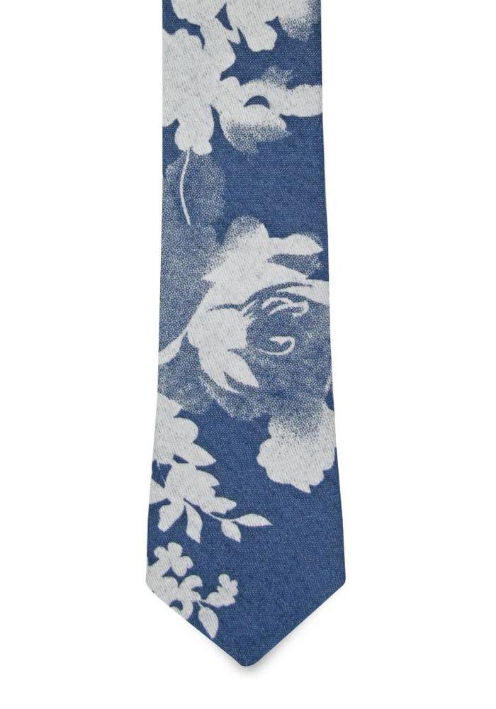 The Florian Cotton Floral Tie