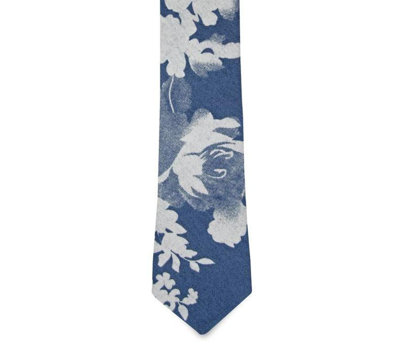 The Florian Cotton Floral Tie
