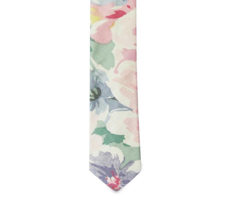 The Montero Floral Cotton Tie