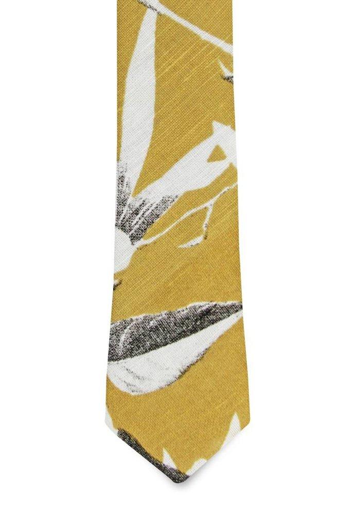The Odessa Linen Floral Tie