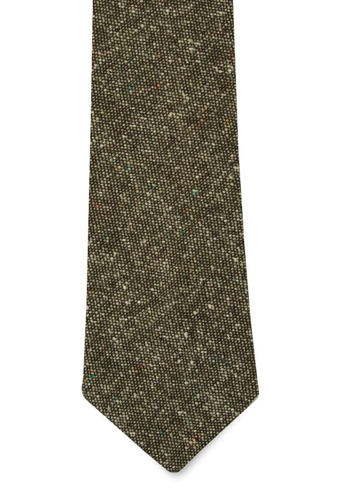 The Ortega Wool Tie