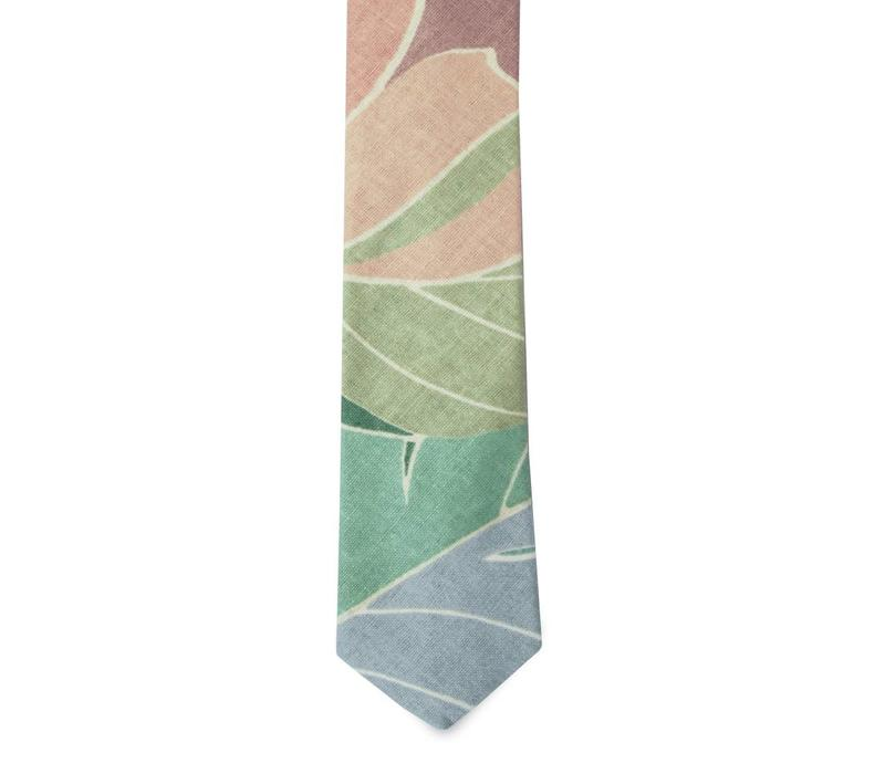 The Rivera Cotton Floral Tie