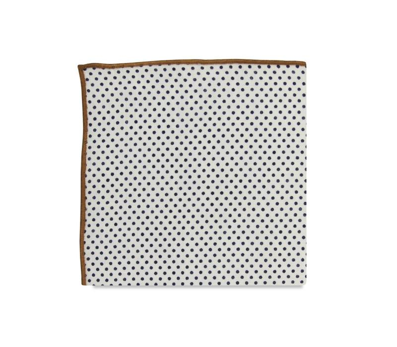 The Sadler Polka Dot Pocket Square