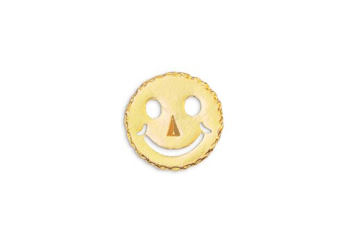 Pocket Square Clothing Gold Smiley Pin