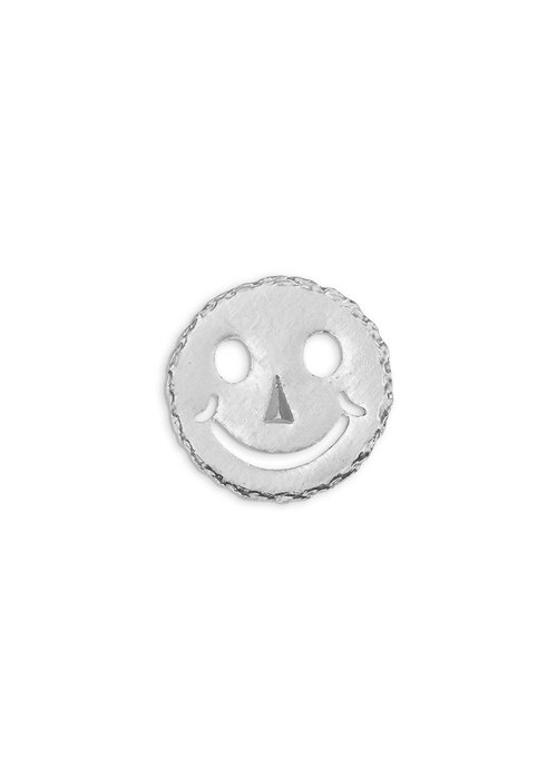 Pocket Square Clothing Silver Smiley Pin