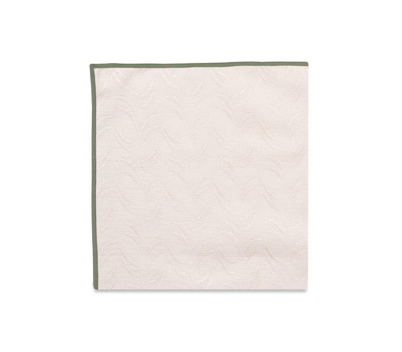The Finn (Olive) Pocket Square