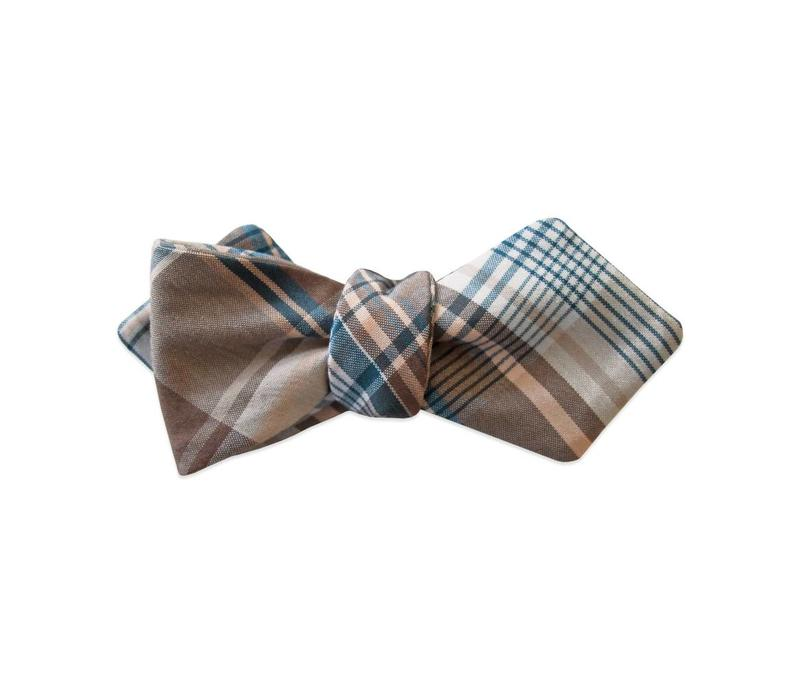 The Southern Gent Plaid Bow Tie