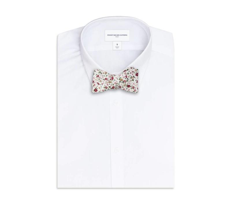 The Antoinnette Floral Bow Tie