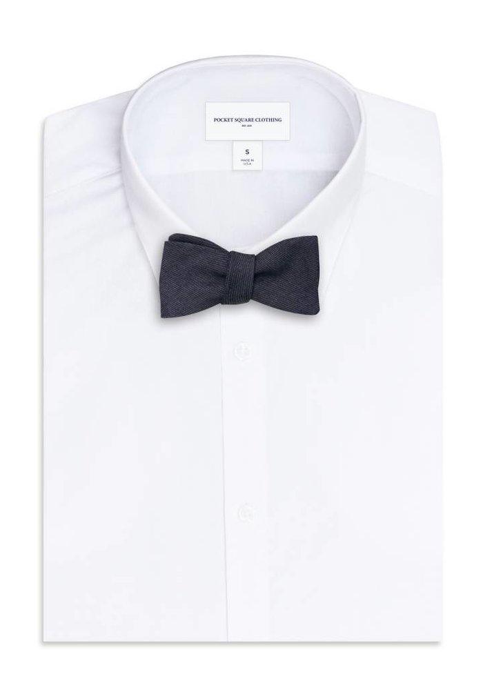 The Yankee Denim Bow Tie
