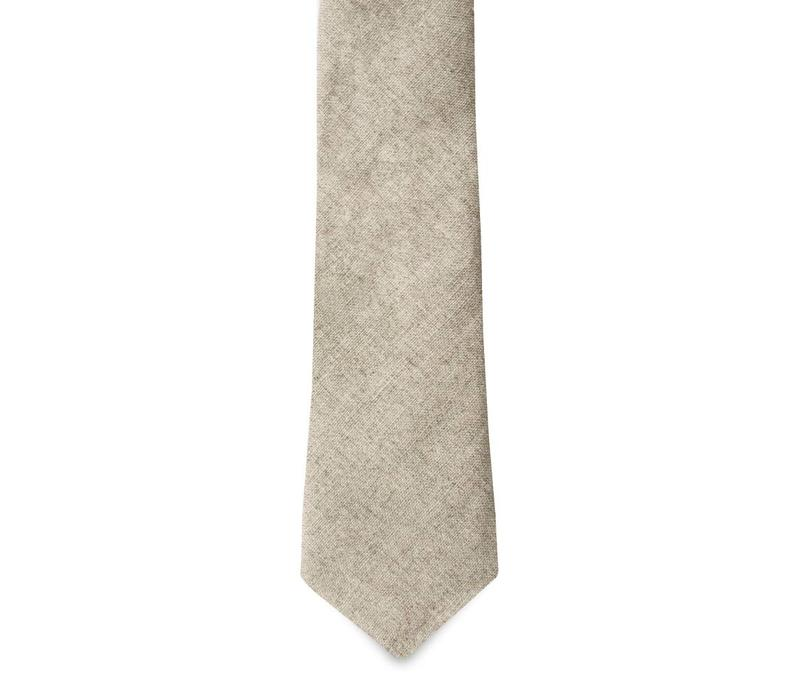The Cinnamon Kiwi Linen Tie