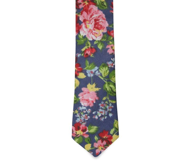 The Walton Cotton Floral Tie