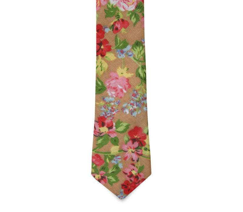 The Sadie Cotton Floral Tie