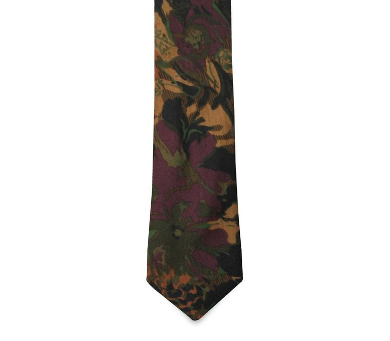 The Rhapsody Floral Cotton Tie