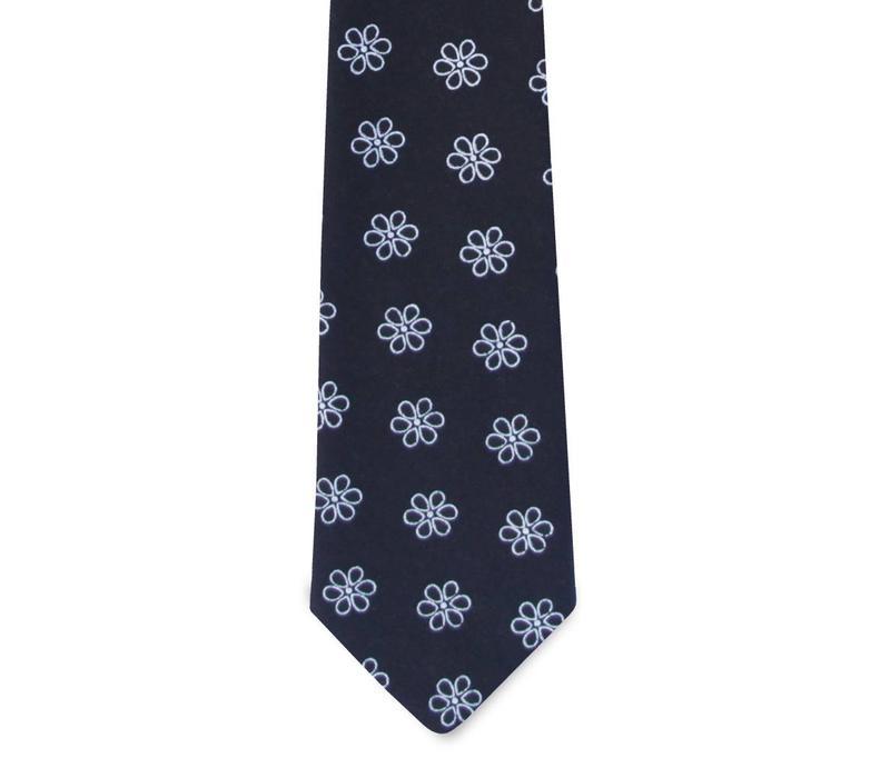 The Milana Cotton Floral Tie