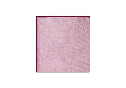 Pocket Square Clothing The Merrow (Maroon Chambray) Pocket Square