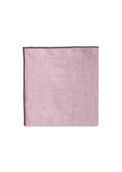 Pocket Square Clothing The Merrow (Brown Maroon) Pocket Square