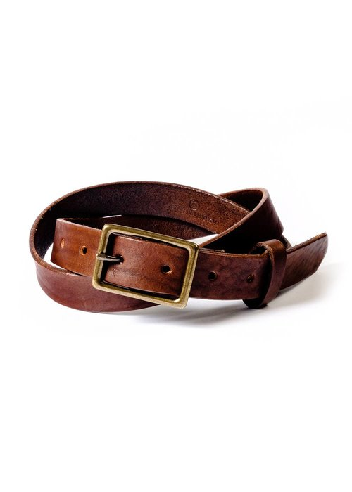 Made in Mayhem Skinny Espresso Belt