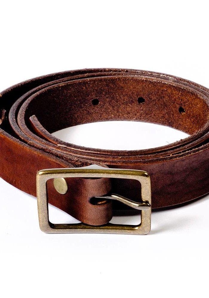 Skinny Espresso Belt