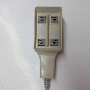 Roscoe RP476067 New Invacare Semi-Electric Pendant 1Way