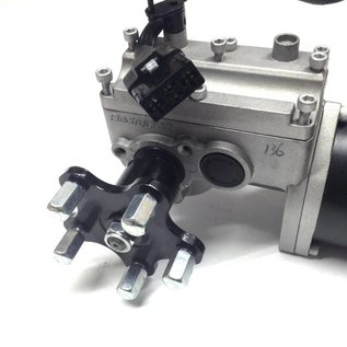 ElectroCraft DRVASMB2223 Used Electrocraft Left Motor/Gearbox for Pride Quantum Q6 Wheelchair