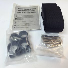 NB205L-A1 New Body Point Basic Pelvic Belt w/ Mounting Hardware