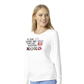 WonderWink Wonder Wink Women's Layers Long Sleeve Novelty Tee 2609