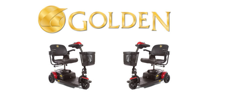 Golden Buzz Around LT Scooter