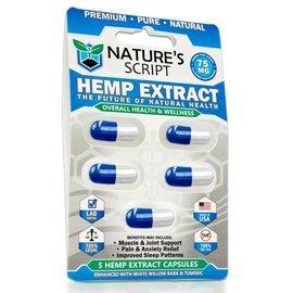 Nature's Script Nature's Script 5 Hemp Extract Capsules