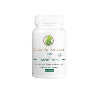 Oliver's Harvest Oliver's Harvest CBD with Melatonin 60 Tablets