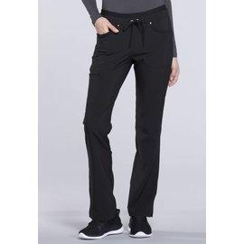 Cherokee Straight Leg Yoga Pant CK010 S Black Standard