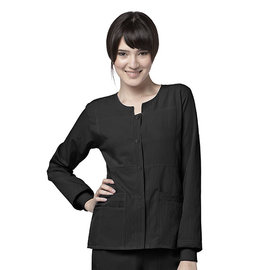 WonderWink WonderWink 4-Stretch Sporty Button Front Jacket 8114A