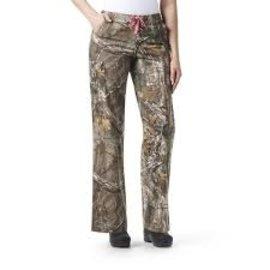 Carhartt Women's RealTree Print Boot Cut Pant C52405
