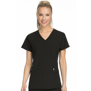 Med Couture Air Women's Spirit V-Neck Top 8561
